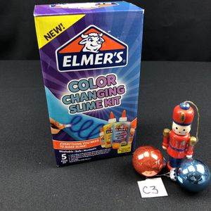 Elmers color changing slime kit for Sale in Montgomery, IL