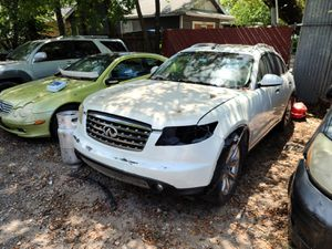Parting out a 2007 Infiniti FX35 for Sale in Dallas, TX