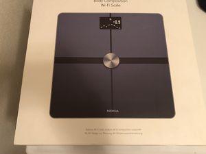 Nokia body composition WiFi scale for Sale in Murrieta, CA