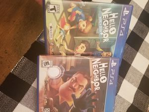 Hello neighbor bundle- ps4 games for Sale in Pembroke Pines, FL