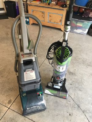 Hoover steamvac, deluxe, shampooer and Bissell pet hair remover vacuum for Sale in Vancouver, WA