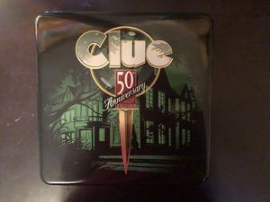 Clue 50th Edition Board Game for Sale in New Smyrna Beach, FL