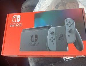 Nintendo Switch console grey new for Sale in Reisterstown, MD