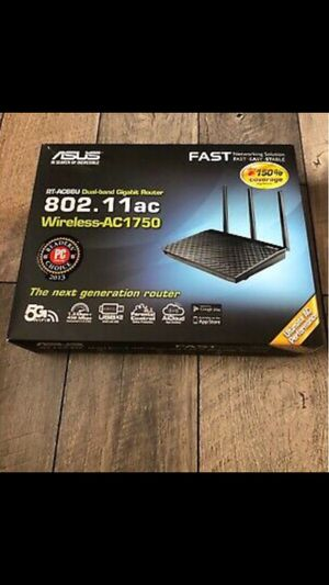 Asus Dual band Wireless Ac 1750 Gigabit router for Sale in Houston, TX