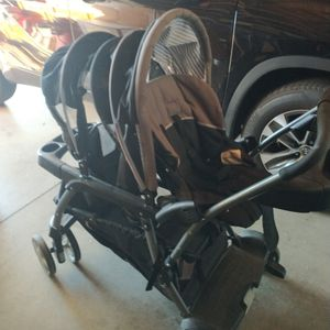 Double Stroller Great Condition for Sale in Rialto, CA