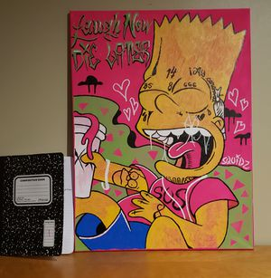 Maimi Series ORIGINAL PAINTING - Bart for Sale in Columbus, OH