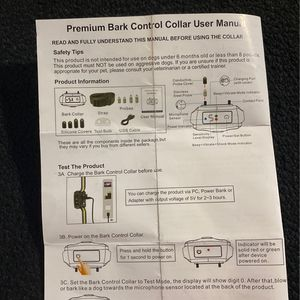 Bark Control Collar for Sale in Phoenix, AZ