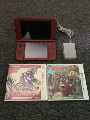 New Nintendo 3DS XL With 2 Games for Sale in Lakewood, OH