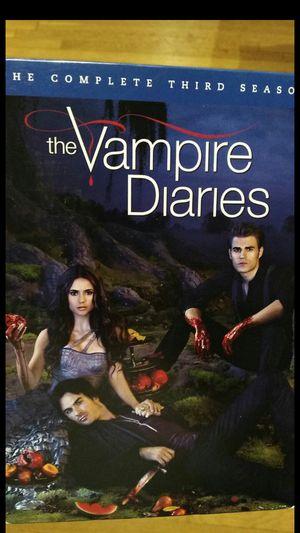 Vampire Diaries Season 3 DVD 5 discs great condition originals for Sale in North Haven, CT