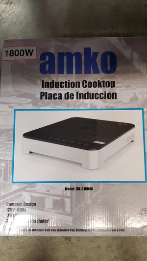 Amko Induction Cooktop 1800W for Sale in Clearwater, FL