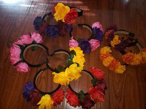 Diademas de Flores que no pueden faltar para tu disfraz de Catrina o Frida Khalo. 🌺🌼🌸🏵 for Sale in Arlington, TX