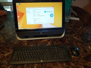 Hp all in one desktop computer for Sale in Columbus, OH