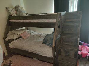 Bunk beds ! Mattresses brand new barley used for Sale in Covina, CA