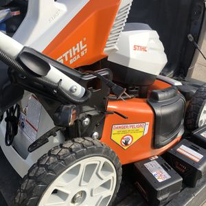 Push Mower And Blower Good Condition Almost New for Sale in Columbus, OH