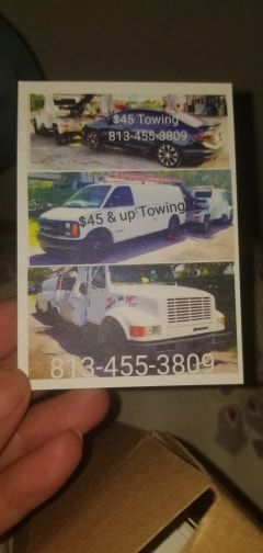 $50 up towin service for Sale in Tampa, FL