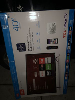 TCL ROKU TV 40 inch for Sale in San Jose, CA