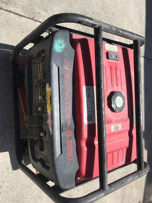 Predator Generator 6500 w **NOT WORKING**** for Sale in Richmond, CA