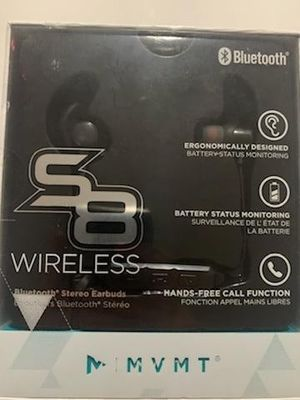 MVMT Wireless S8 Bluetooth Stereo Earbuds for Sale in Port Richey, FL
