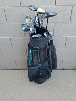 Golf Bag With Assorted Golf Clubs for Sale in Gilbert,  AZ