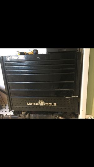 Matco large tool box (updated) for Sale in San Fernando, CA