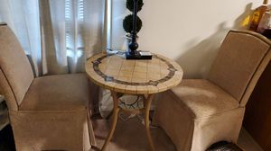 3 pcs dining table and chairs for Sale in Sudley Springs, VA