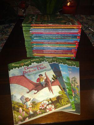 Magic treehouse books 1-28 for Sale in Yuma, AZ