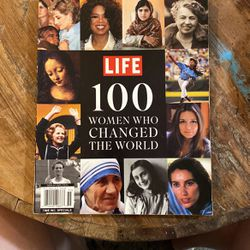 LIFE 100 WOMEN Who Changed The World for Sale in Vista,  CA