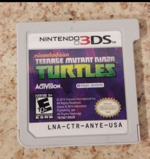 Nintendo 3ds game grea condition$12pick up only for Sale in Anaheim, CA