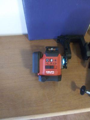 Hilti-pm-30-mg. Laser-250.00 for Sale in Tucson, AZ