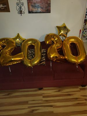 2020 FOIL BALLOONS for Sale in Bakersfield, CA
