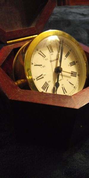 Bulova Quartermaster clock for Sale in Greer, SC