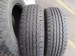 Two used tires lt 2457516 Goodyear for Sale in Aurora, IL
