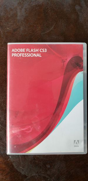 Adobe flash cs3 professional for windows for Sale in Bellevue, WA