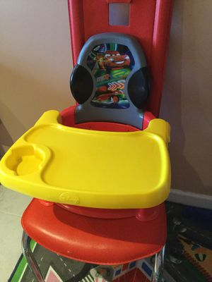 The First Years Disney Pixar Cars 3 Booster Seat Baby Toddler Portable Dining for Sale for sale  Brooklyn, NY