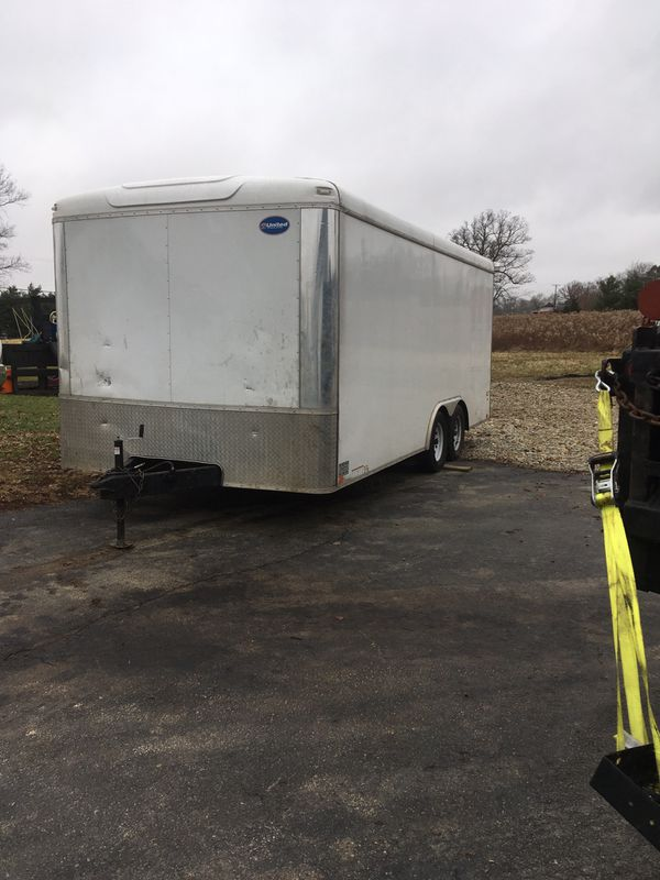 18' X 8.5' enclosed trailer