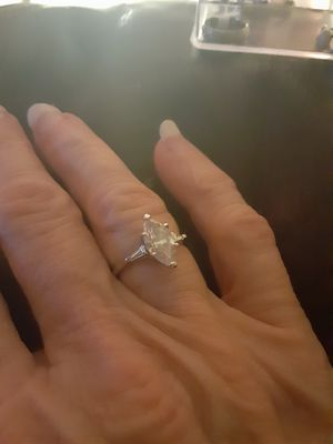 Stylish rhinestone ring size 6 for Sale in PT CHARLOTTE, FL