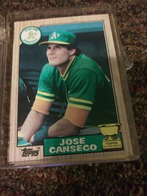 TEN. JOSE CANSEKO TOPPS ROOKIE CARDS for Sale in Tampa, FL