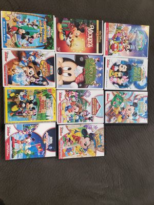 11 Mickey Mouse Clubhouse DVD's for Sale in Arvada, CO