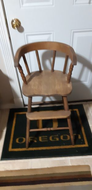 Antique toddler chair for Sale in Veneta, OR