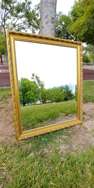 """28"""" x 34"""" Golden Wall Mirror for Sale in North Las Vegas, NV"""