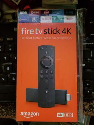 Amazon firestick 4k for Sale in Fayetteville, GA