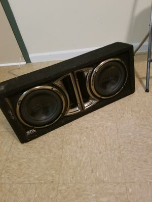 "Subs 10""inch spx pro audio for Sale in Staten Island, NY"