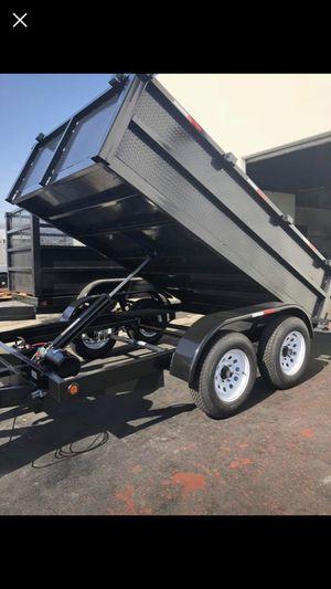 8x10x2 dump trailer for Sale in Covina, CA