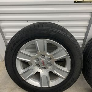 """GMC 20"""" Rims And Tires for Sale in Houston, TX"""