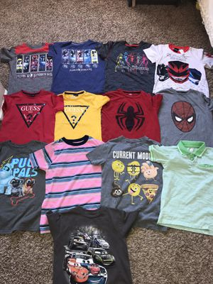 Used Kids clothes size 8 $3 each or all for $25 FIRM Serious buyers only please for Sale in Palmdale, CA