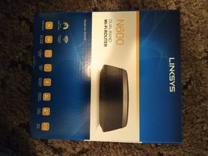 Linksys N600 wifi router for Sale in Morristown, TN
