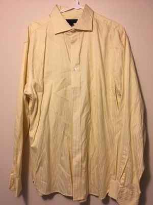 Express men's dress shirt-yellow for Sale in Munster, IN
