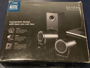Altec Lansing computer speakers BX1221 for Sale in Lititz, PA