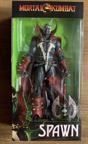 McFarlane Mortal Kombat Spawn with Axe Collectible Action Figure Toy for Sale in Chicago, IL