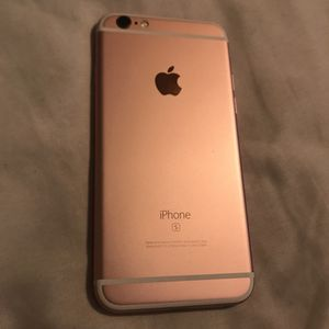 IPhone 6S AT&T/ Cricket Rose Gold for Sale in Austin, TX